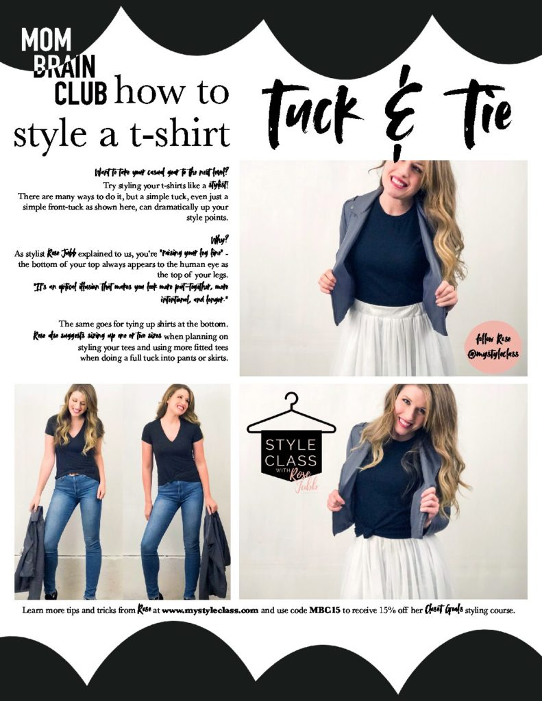 TUCK AND TIE ROSE JUBB My Style Class TUTORIAL 1 pdf